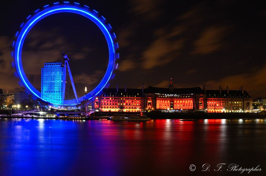 8. London eye by night by Daniele Forestiere