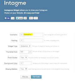 Tutorial | Letak Widget Instagram di Blog