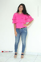 Telugu Actress Deepthi Shetty Stills in Tight Jeans at Sriramudinta Srikrishnudanta Interview .COM 0028.JPG