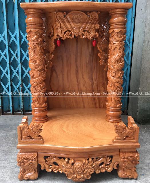 Bàn thờ ông địa thần tài đẹp giá rẻ kích thước 61x61x88