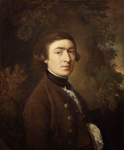 Thomas Gainsborough Self Portrait, 1758-9