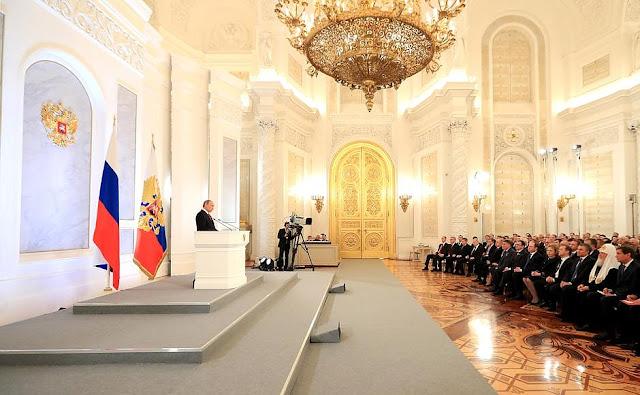 Βαρυσήμαντη ετήσια ομιλία του Βλαντιμίρ Πούτιν…