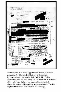 Truth Continuum: Liar, Liar: Marable's Misuse of FBI Files