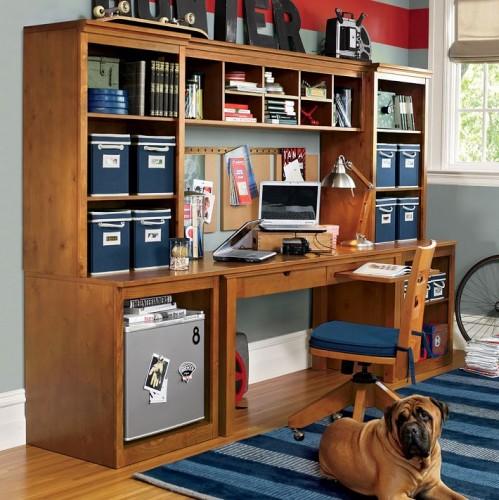 Modernos y elegantes muebles de estudio para j venes o for Decoracion de estudios modernos