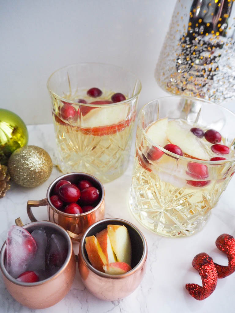 A Christmas Gin Cocktail