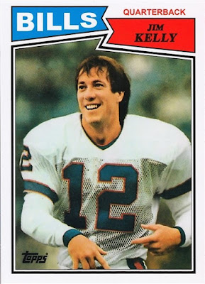 2012 Topps Rookie Reprint #362 Jim Kelly 87