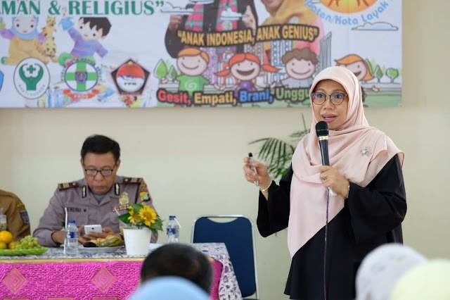 Bunda Elly Farida Yakin, Tahun 2021 Depok Menjadi Kota Layak Anak