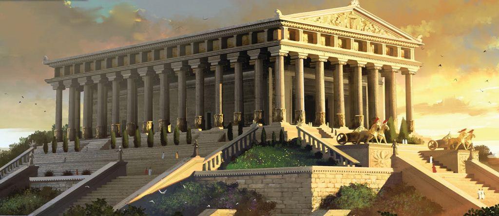 Mausoleum di Halicarnassus Adalah kuburan yang dibangun oleh Ratu Artemisia untuk mengenang suaminya Raja Maulosus dari Caria