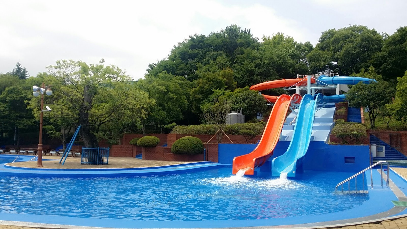Fun free daegu travel korea 39 s outdoor swimming pools in How big is a competition swimming pool