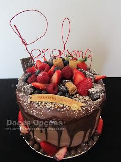 chocolat drip cake