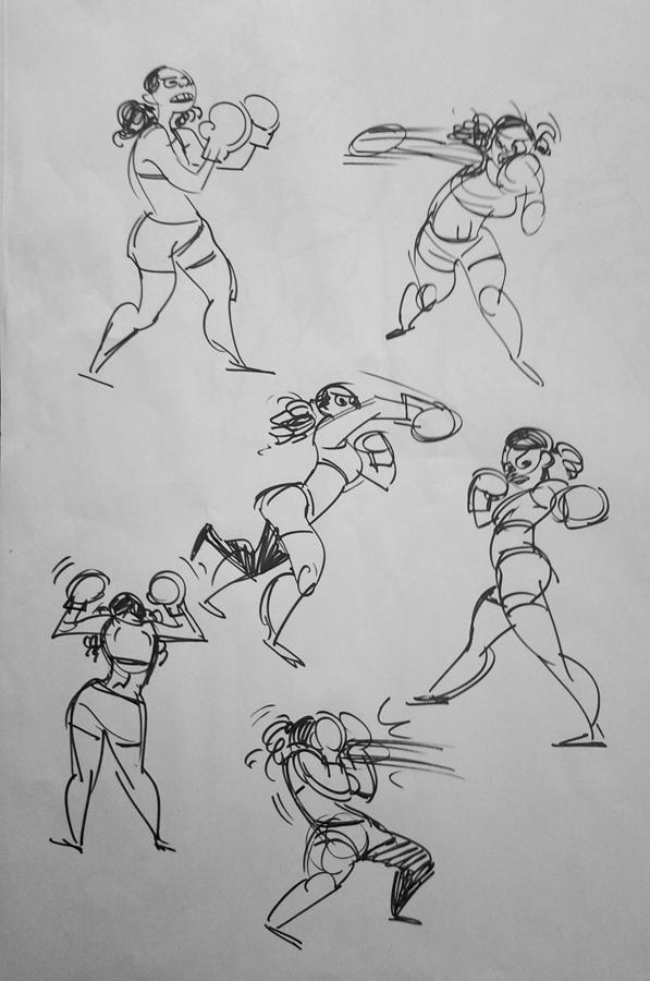 Women Posing For Art Classes