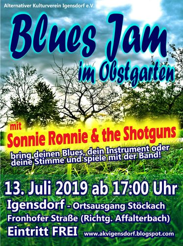 Blues Jam Igensdorf 2019