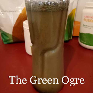 Reviewing the Green Ogre drink - a healthy drink