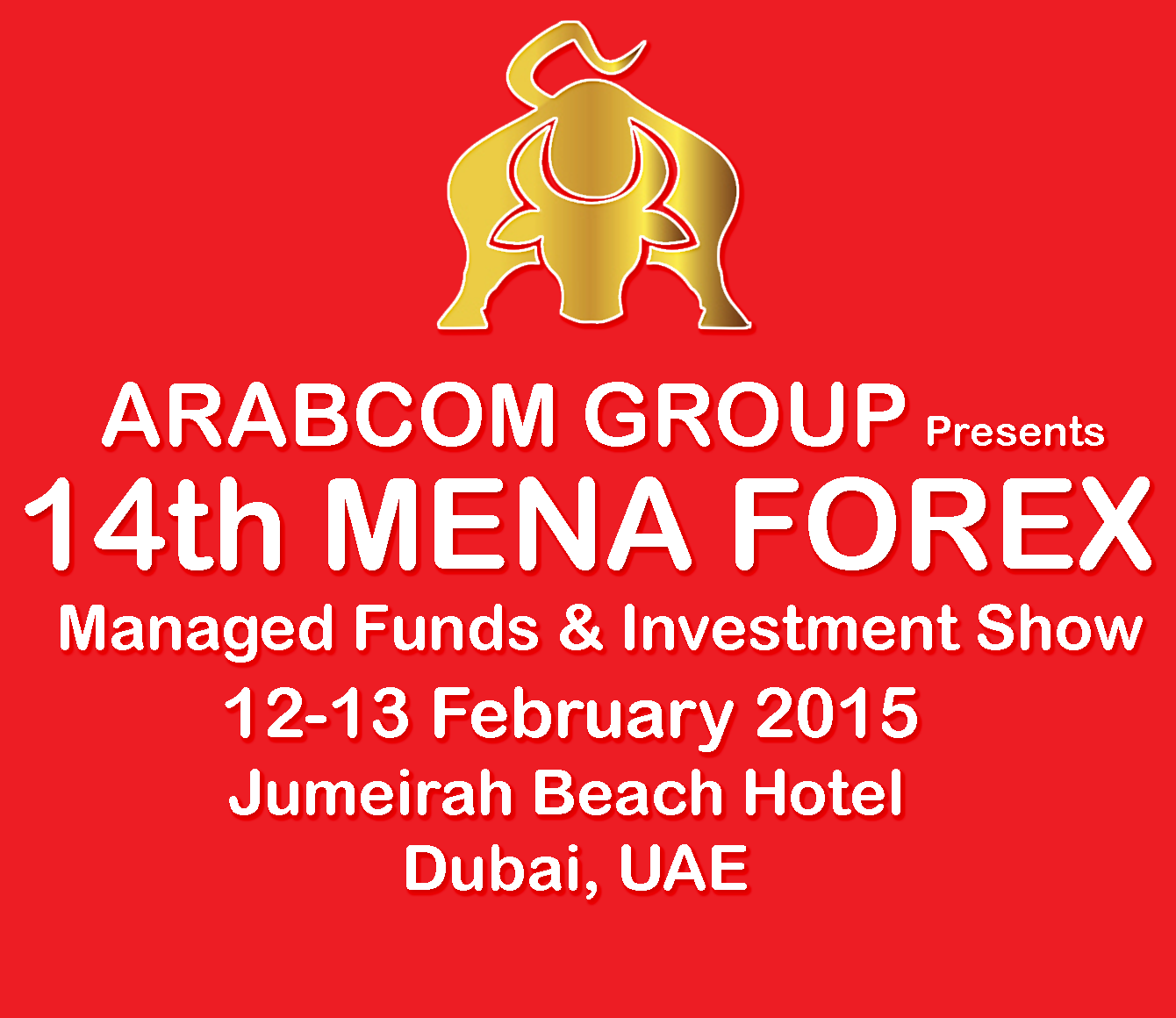 14th mena forex managed funds and investment show 2015