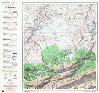 Ait-OUMGHAR Morocco 50000 (50k) Topographic map free download