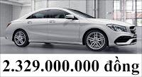 Giá xe Mercedes AMG CLA 45 4MATIC 2018