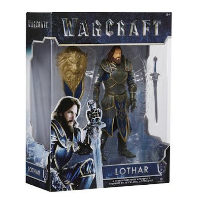 TOYS : JUGUETES - WARCRAFT  Lothar | Figura - Muñeco  Película Warcraft El Origen 2016 2016 | A partir de 6 años  Comprar en Amazon España & buy Amazon USA