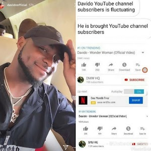 Did Davido Buy Fake Views For His New Video?