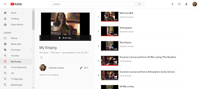 My YouTube page