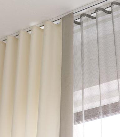 Cortinas onda perfecta una tendencia al alza - Rieles para cortinas ...
