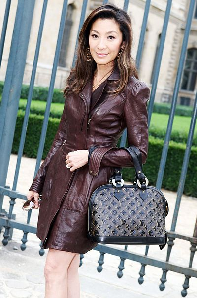 Men Women Clothes Brown Leather Dress