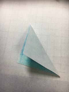影織の切り絵ポップアップカード作り方①
