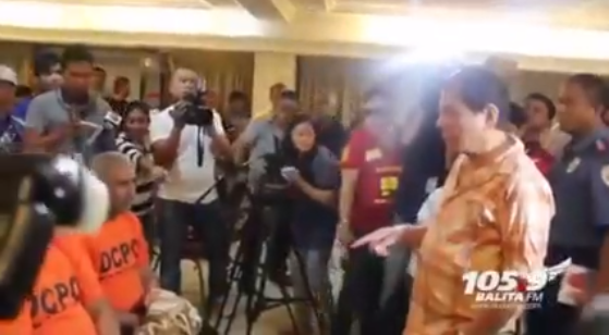 Bangis at Tapang ni Duterte ng Kaharap ang mga Suspek sa Indian National Kidnapping