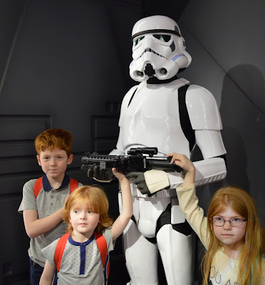 Madame Tussauds London including Star Wars,  A Review - Stormtrooper