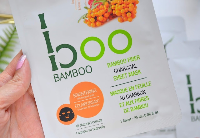 Boo Bamboo Charcoal Sheet Masks