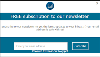 How to add Subscribe us Pop up box in Blogger & Find your Feedburner ID.