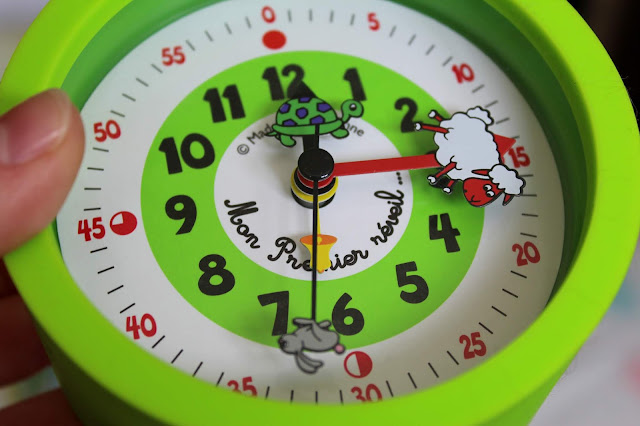 apprentissage de l'heure pour les enfants