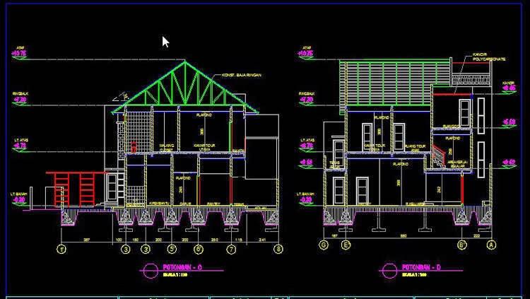 Download File Desain Rumah Sketchup 8 - Contoh Z