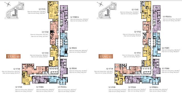 Sky Villa Penthouse tòa S2 Vinhomes Skylake Phạm Hùng