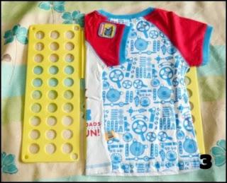 Alat Pelipat Baju 2