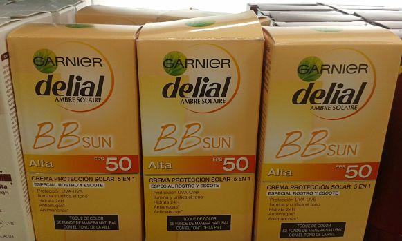 BB Proteccion Solar FPS 50 Garnier Delial