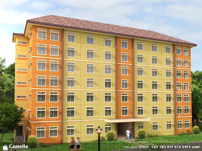 Two (2) Bedroom 40 Sqm   Camella Condo Homes Bacoor| Camella Affordable  House