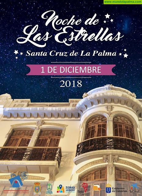 Una nueva fachada del Casco Histórico anuncia la Noche de Las Estrellas 2018