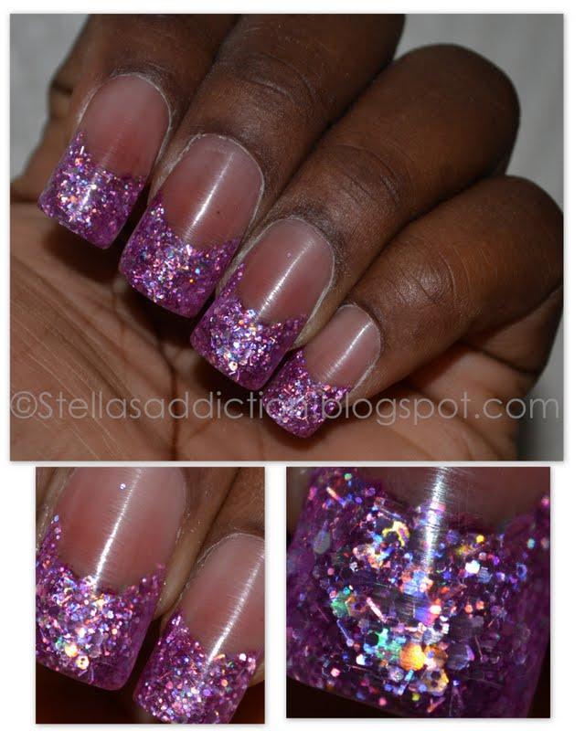 Pretty In Pink Nails : pretty, nails, NOTD:, Pretty, Stella's, Addiction