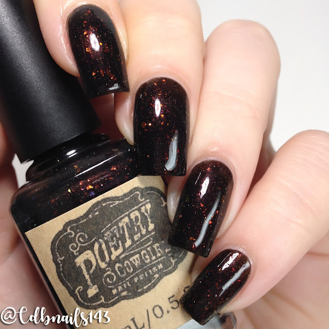 Poetry Cowgirl Nail Polish-Frankly, My Dear