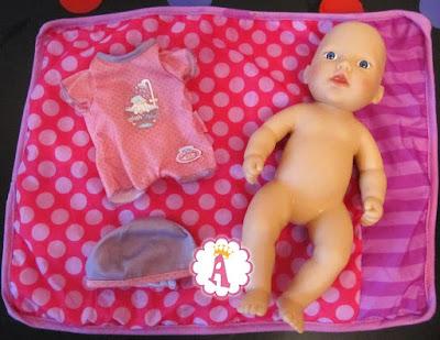 Кукла пупсик для девочек Моя первая Беби Анабель