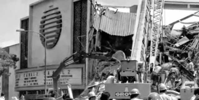 Terremoto en Ciudad de Mexico