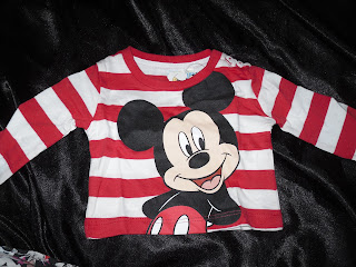 mickey baby top