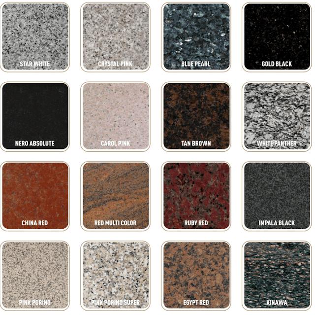 batu granit untuk mebel