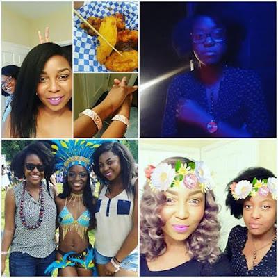 Photos/Video: Nigerian lesbian celebrates three years anniversary with her girlfriend