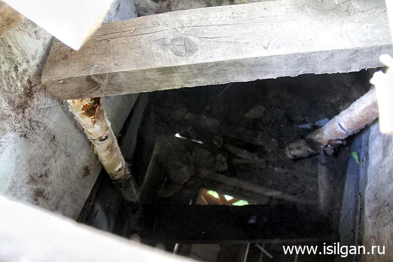 Ключик за вторым микрорайоном (Ключик в районе первого Серебрянского карьера). Город Карабаш. Челябинская область