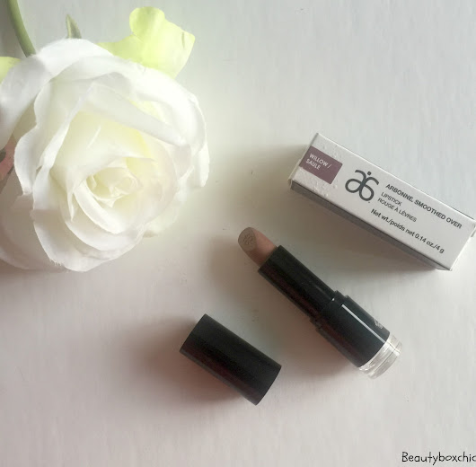 Arbonne Smoothed Over Lipstick Thoughts + First Impression