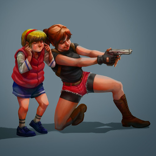 Sherry & Claire RE2