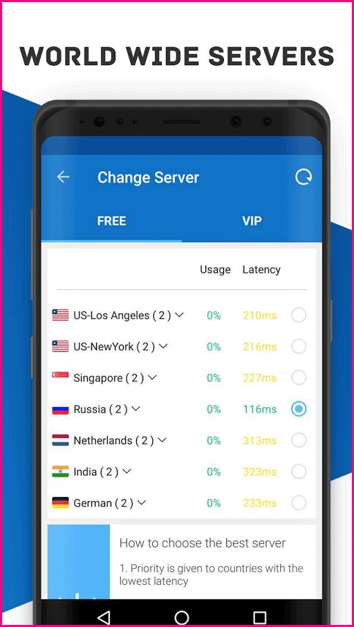 Secure VPN Free VPN Proxy VIP Unlimited