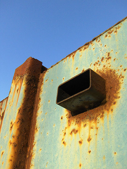 urban photography, industrial, urban decay, Sam Freek, art, rust,