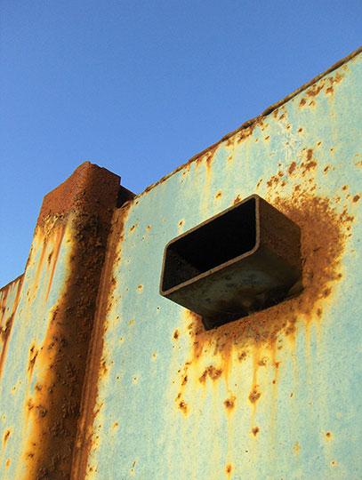 urban photography, industrial, urban decay, Sam Freek, art, rust,